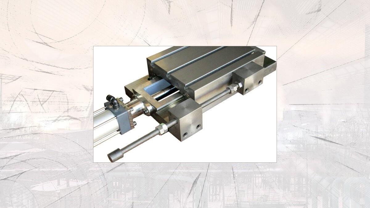 میز صلیبی محور یک جهته مدل ALD D300PN دریل سازان پیشرو